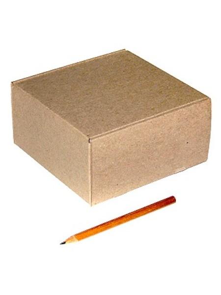 Коробка микрогофра 14/001-93 без декора 14 х 14 х 7 см