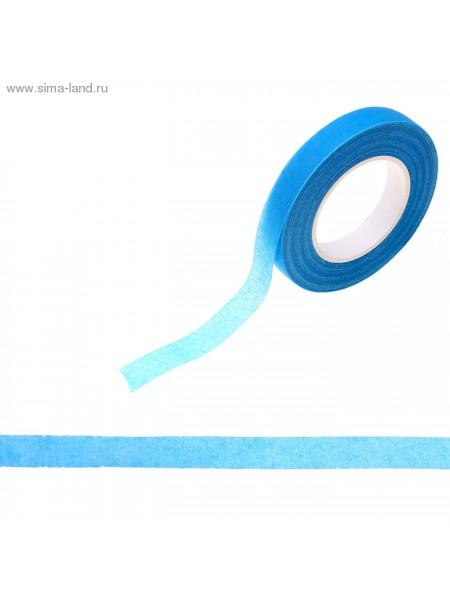 Тейп-лента 1,2 см х 27,3 м Синяя намотка