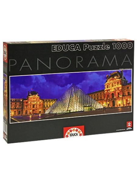 1000 элементов пазл Educa Лувр панорама