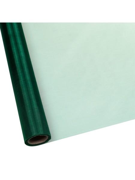 Органза 70 см х 9 м цвет темно-зеленый  Арт 1017