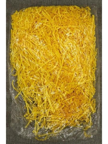 Наполнитель гофрированный цвет желтый