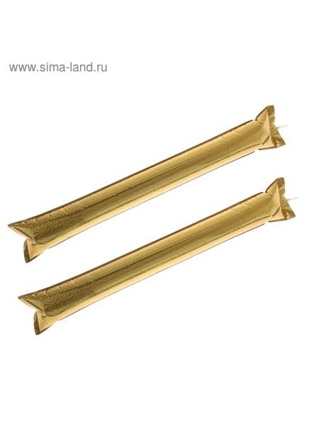 Палка Болельщик набор 2 шт цвет золотой