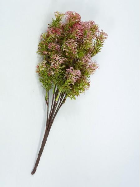Аспарагус на вставке 32 см цвет зеленый/розовый 1102/РК