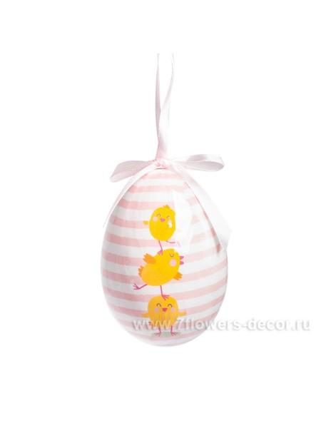 Подвеска Яйцо 10 см полистирол