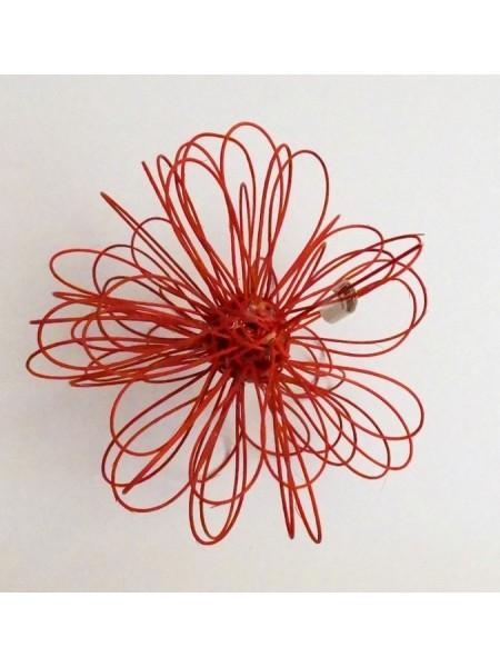 Шар плетеный ротанг D20 см 3088 цветной