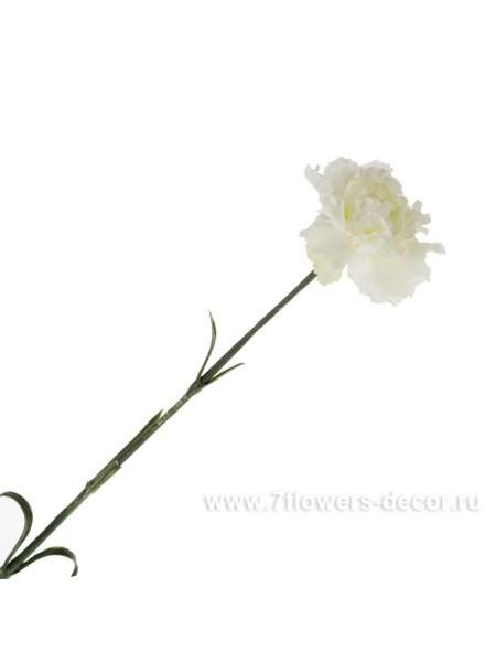 Гвоздика 58 см цвет кремовый Арт KS7-005 02