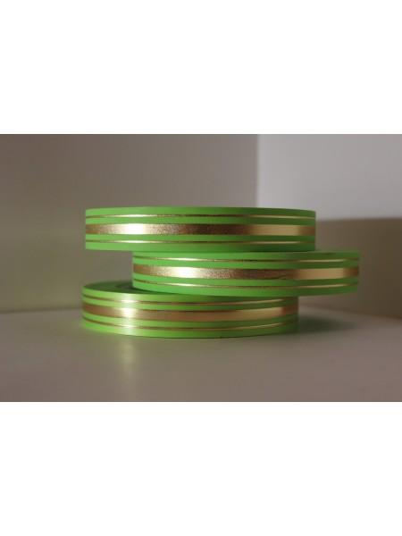Лента с з/п 2см*50ярд Широкая з/п (классика) L210 цв.зеленый