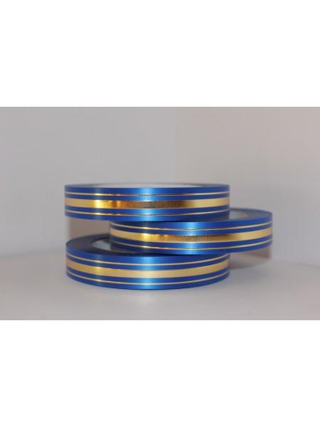Лента с з/п 2см*50ярд Широкая з/п (классика) L211 цв.синий