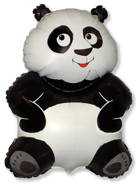 """Фольга шар Большая панда 33""""/82,5 см 1шт Испания"""