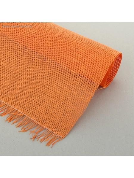 Сетка бумажная 50х75 см цвет оранжевая