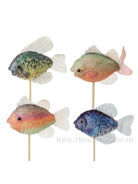 Рыбка на вставке 10 х 50 см цвет асс Арт.К40590