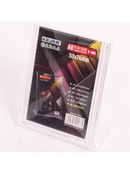 Ценник пластмассовый 53 х 74 мм