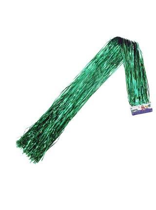 Дождик голография 1,5 м матовый цвет зеленый HS-42-8