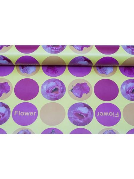 Бумага глянцевая 100 х 70 см Flower