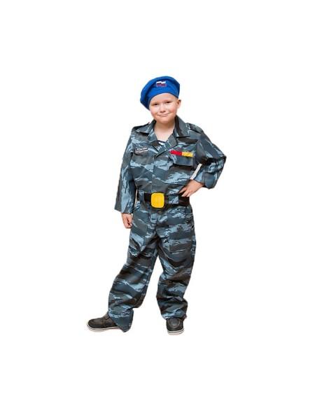 Костюм детский Десант на 8-10 лет рост 140-152  комбинезон/пояс