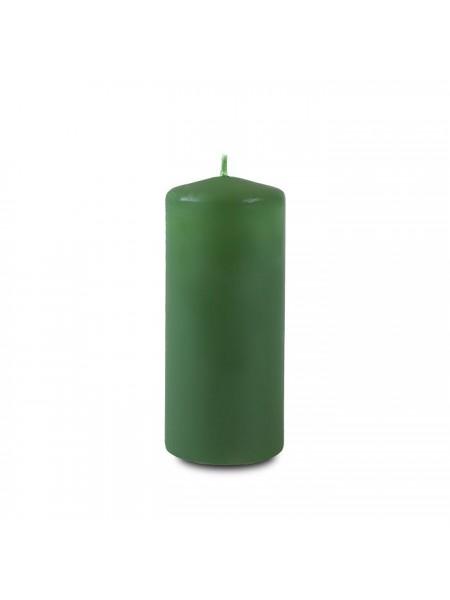 Пеньковая 40 х 90 темно-зеленая свеча