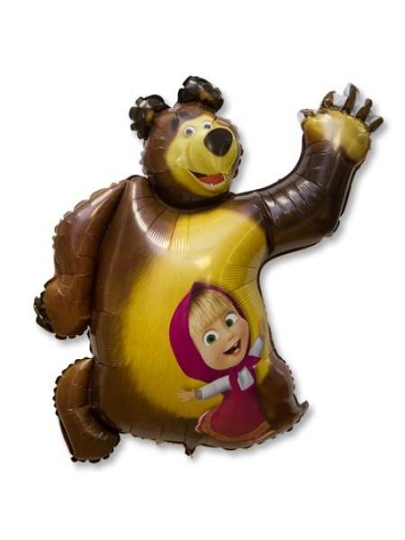 Фольга шар Маша и Медведь Grabo Италия