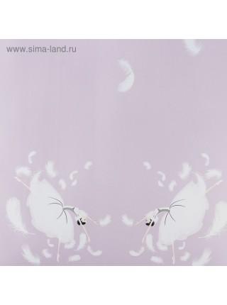 Пленка Балерина 58 см х 5 м цвет лаванда/фиолетовый