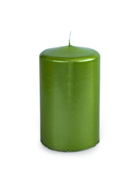 Свеча пеньковая 60 х 100 зеленый блеск
