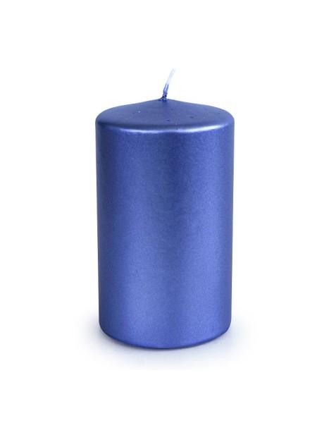 Свеча пеньковая 60 х 100 синий блеск