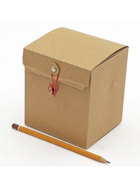 Коробка крафт складная 12 х 13 х 10,5 см HS-10-2