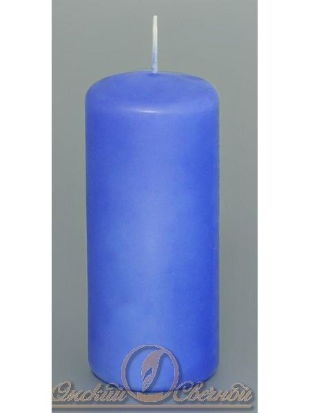 Пеньковая 50 х115 голубая свеча
