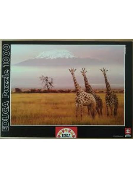 1000 элементов пазл Educa Национальный парк Кения