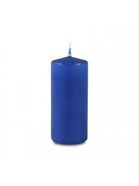 Пеньковая 40 х 90 синяя свеча