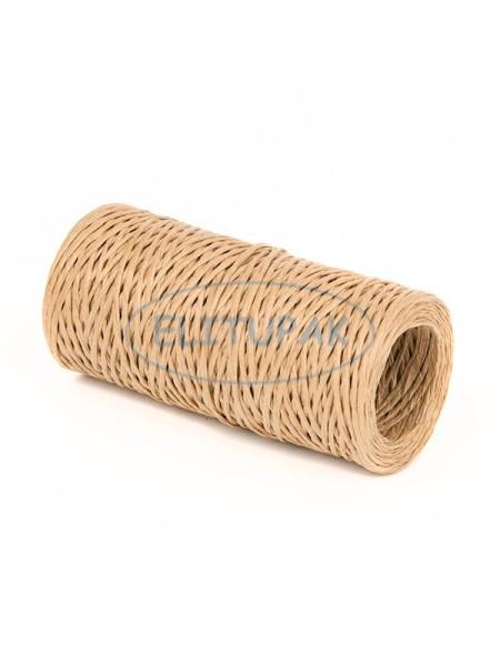 Проволока с бумажным покрытием 1,5 мм х 50 м цв Светло-коричневый