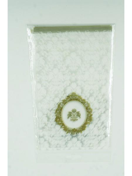 Пакет прозрачный с рисунком Свадьба 11 х 20 см (10шт)