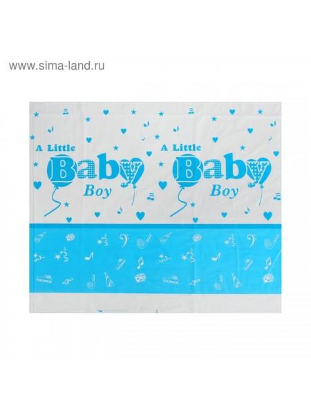 Скатерть полиэтилен Litlle Baby Boy 108 х 180 см