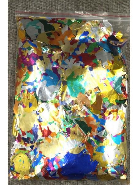 Конфетти Голуби 4 см фольга 1000 г