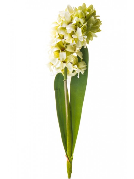Гиацинт 58 см цвет белый