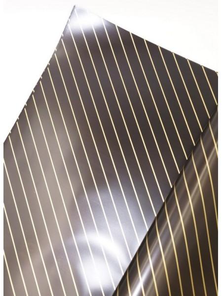Пленка 2х сторон. Косая линия  60 х 60 см  цвета в ассортименте (19,5 руб)