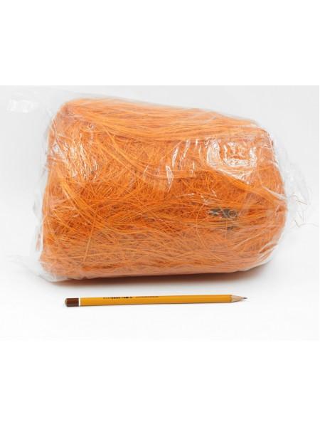 Сизалевое волокно 250 гр цвет Оранжевый