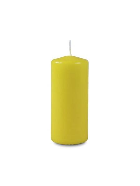 Пеньковая 40 х 90 желтая свеча