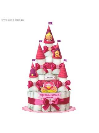 Набор Принцесса для создания торта из подгузников