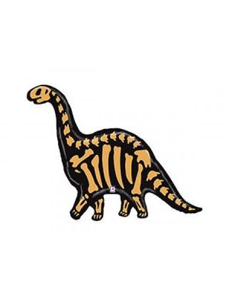 Фольга шар Динозавр Бронтозавр Betallic