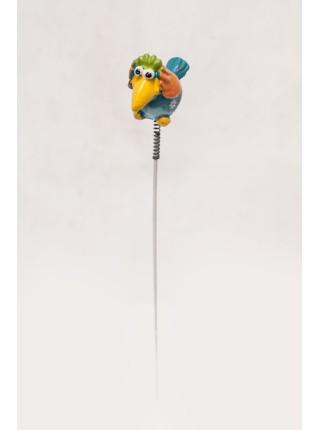 Фигурка на штекере Ворона 4 х 20 см 1шт  KXY14A5137