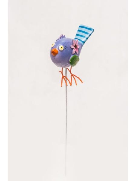 Фигурка на штекере Птичка 6 х 20 см 1шт  KXY14A5099