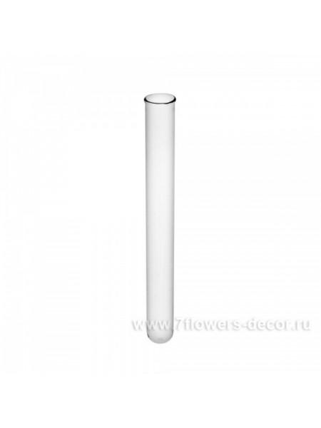 Набор пробирок D1.6 х H15 см 10 шт цвет прозрачный 88-5235