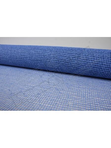 Сетка натуральная мелкая ячейка 53 см х 6 м цвет синий 11