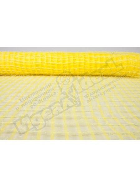 Сетка Флис Корея 53 см х 6 м цвет желтый