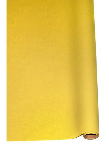 Бумага пергамент 02-30 на крафт основе 70 см х 10 м 40г/м2 цвет желтый