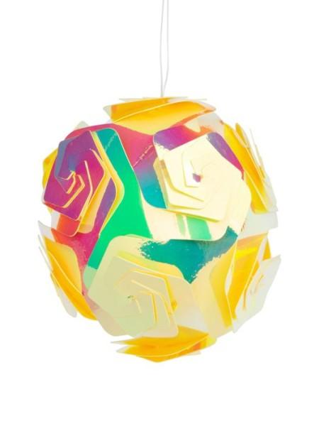 Шар 10 см ПВХ  цвет золотой  арт. 86193 Новый год