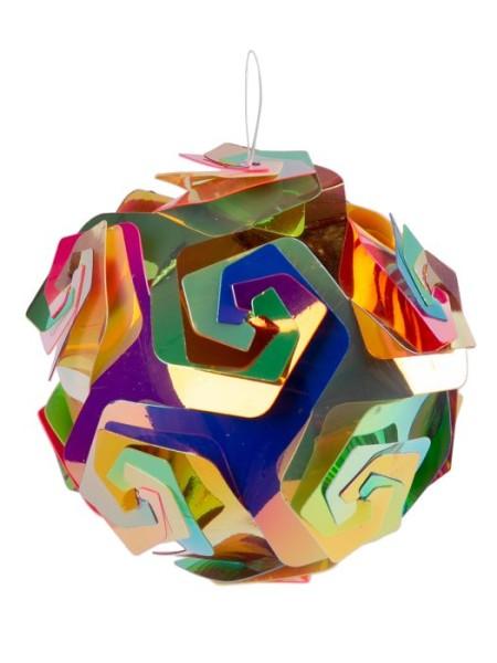 Шар 10 см ПВХ  цвет мультиколор арт. 86197 Новый год