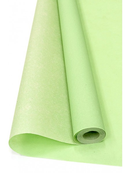 Бумага пергамент 11/40  83 см х 10 м 40г/м2 цвет зеленое яблоко