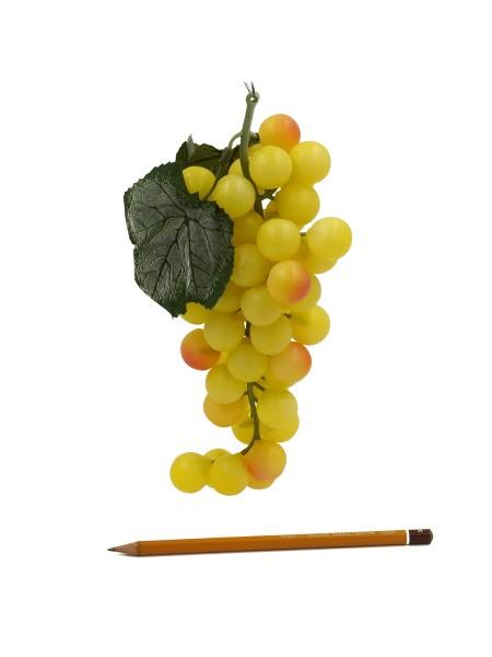 Виноград гроздь 25 см цвет желтый HS-1-42-1