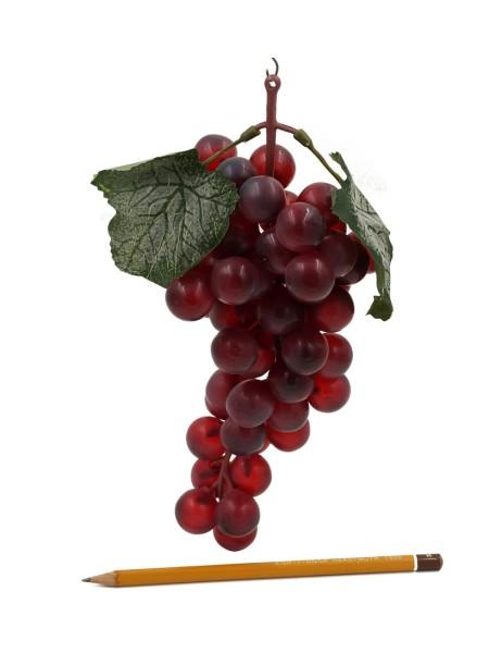 Виноград гроздь 25 см цвет красный HS-1-42-5