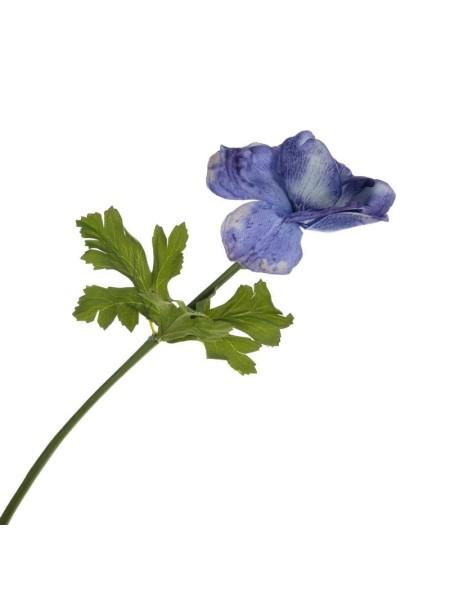 Анемон 53 см цвет синий Арт. 1405LA-BL-149W ткань